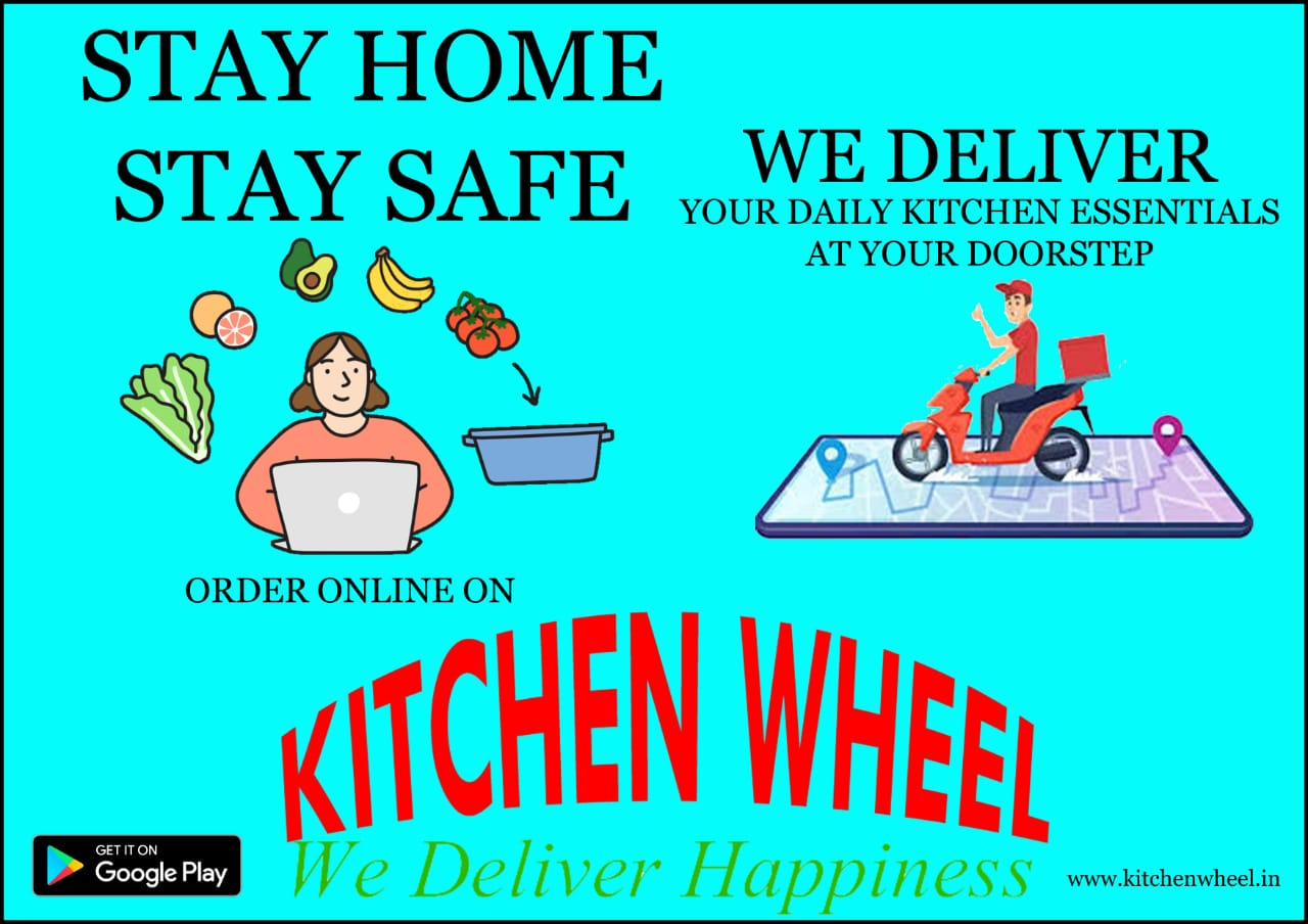 Kitchen Wheel We Deliver Happiness